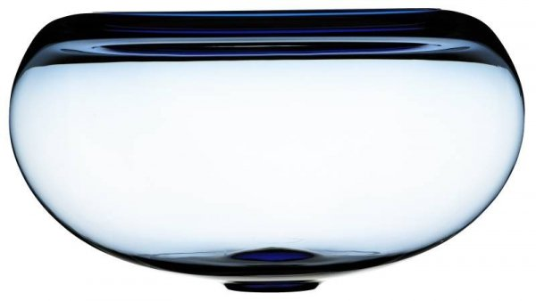 Holmegaard PROVENCE Misa Szklana 31 cm Niebieska