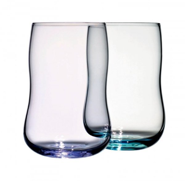 Holmegaard Future - Szklanki Lavender/Aquamarine 25 cl 2-pack