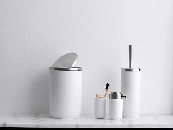 Sodahl FRAGMENT Szczotka Toaletowa do WC Biała