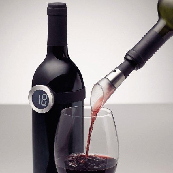 Menu VIGNON Cyfrowy Termometr do Wina - na Butelkę
