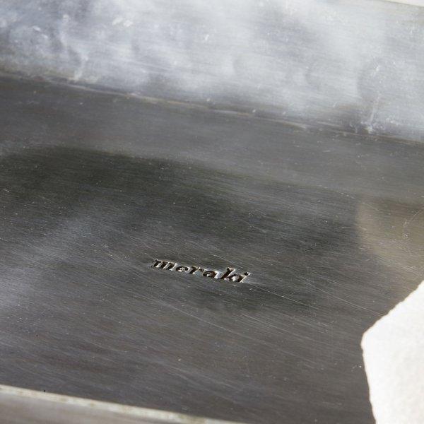 Meraki TRAY Tacka Dekoracyjna 20x30 cm Srebrna