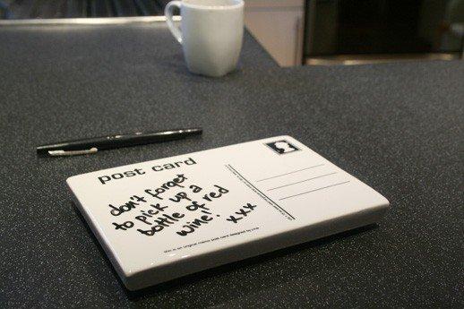 J-me POST CARD Notatnik Ceramiczny + Pisak