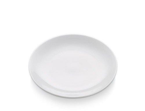 White Basics - Talerz Okrągły Płaski 20,5 cm