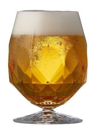 Lyngby Glass ALKEMIST Kryształowe Kieliszki do Piwa 530 ml 2 Szt.