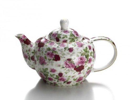 Royal Old England Imbryk Dzbanek do Herbaty 750 ml Pączek Róży