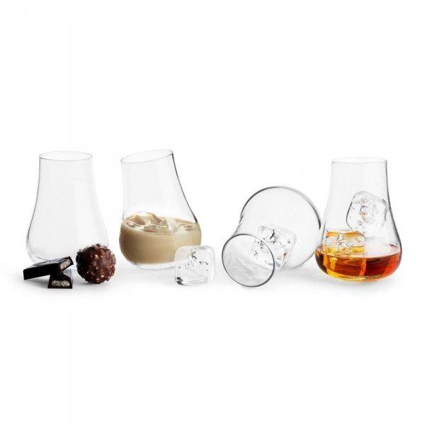 Sagaform CLUB Bujające się Szklanki do Whisky, Drinków 150 ml