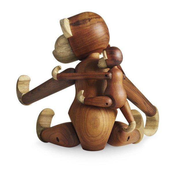 Kay Bojesen MONKEY Figurka Drewniana Małpka - Drewno Tekowe - Średnia