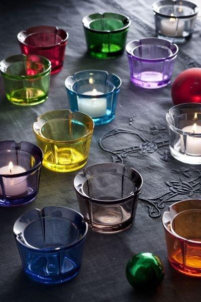 Rosendahl GRAND CRU Świecznik Tealight - Zielony Ciemny