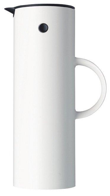 Stelton EM77 Termos Stołowy - Dzbanek Termiczny 1 l - Biały