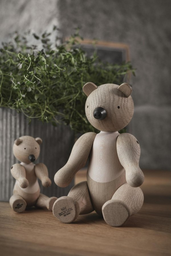Kay Bojesen BEAR Drewniana Figurka - Miś 15 cm