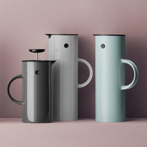 Stelton EM77 Zaparzacz Tłokowy do Kawy typu French Press- Antracytowy