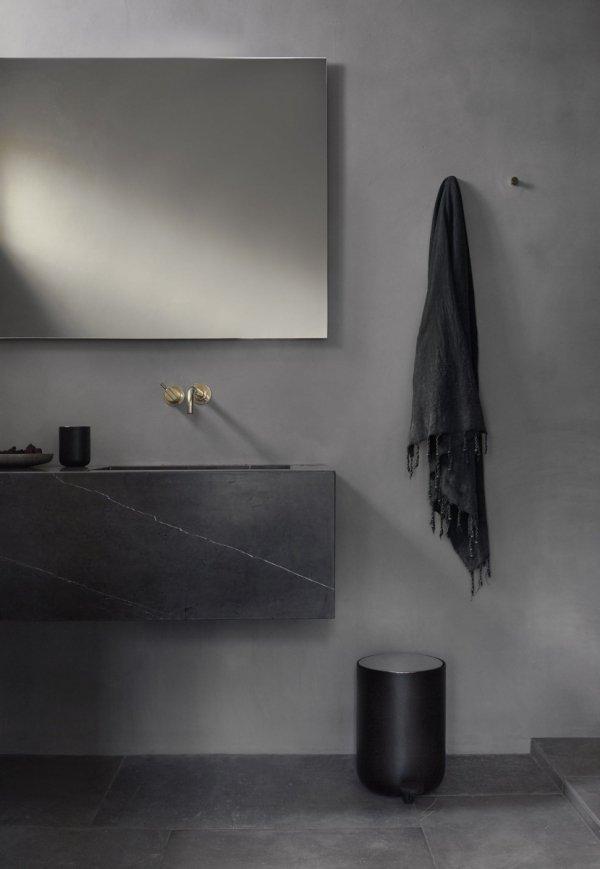 Menu BATH Kosz na Śmieci Łazienkowy 7 l Czarny