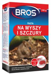 PASTA MYSZY I SZCZURY 100G  BROS