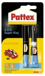 S.O.S. SUPER KLEJ DO PLASTIKU PATEX