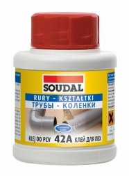 KLEJ DO PCV 42A 50ML SOUDAL