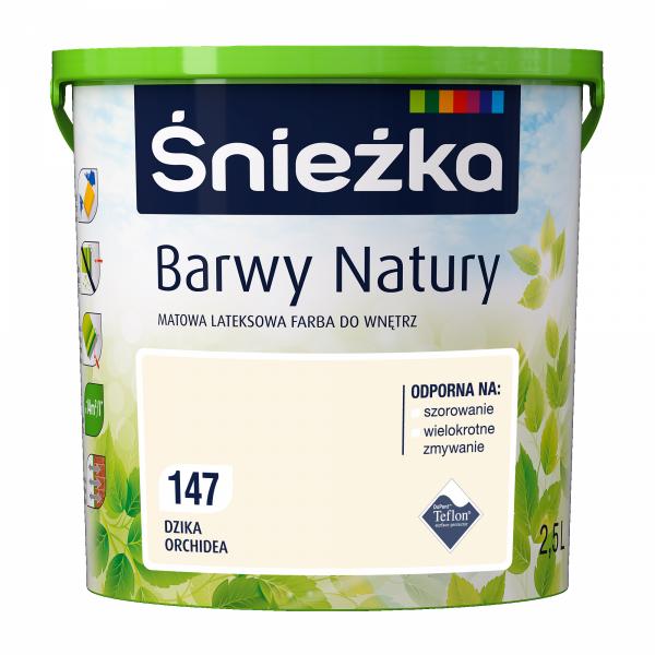 ŚNIEŻKA BARWY NATURY DZIKA ORCHIDEA 147 2,5L