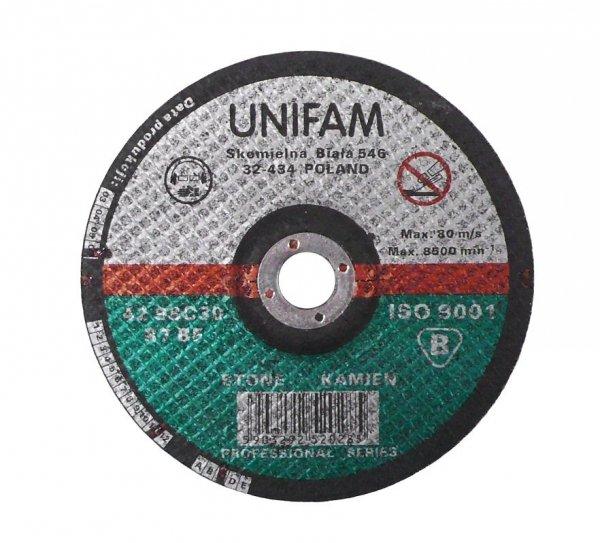 Tarcza do szlifowania betonu 230x6,0 UNIFAM