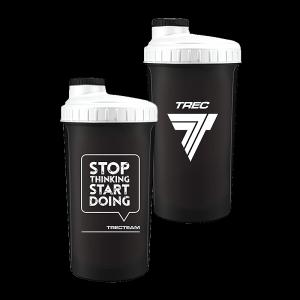 Trec Shaker 0,7 l BLACK-WHITE - STOP THINKING START DOING