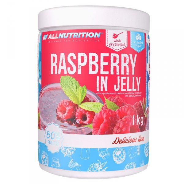 All Nutrition Raspberry In Jelly 1000g