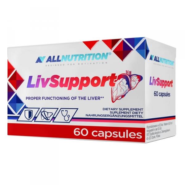 All nutrition LivSupport 60 caps