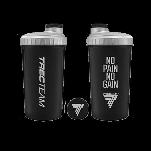 Trec Shaker 0.7l Black - No Pain No Gain