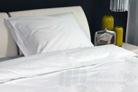 SUPEREXPRESS: Poszewka hotelowa satynowa, gładka, 145g/m2, 210TC
