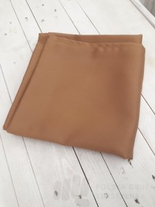 Obrus hotelowy Estetic gładki kolor brązowy