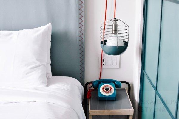 Poszewka hotelowa z płótna, gładka, 155g/m2