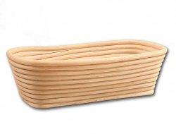 Koszyk do rozrostu (garowania) chleba prostkąt poj. 1kg