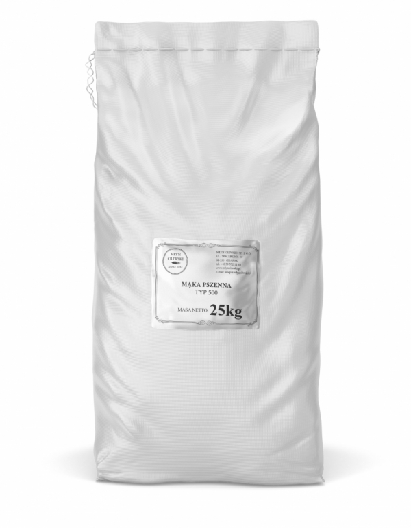 Mąka pszenna typ 500 - 25kg