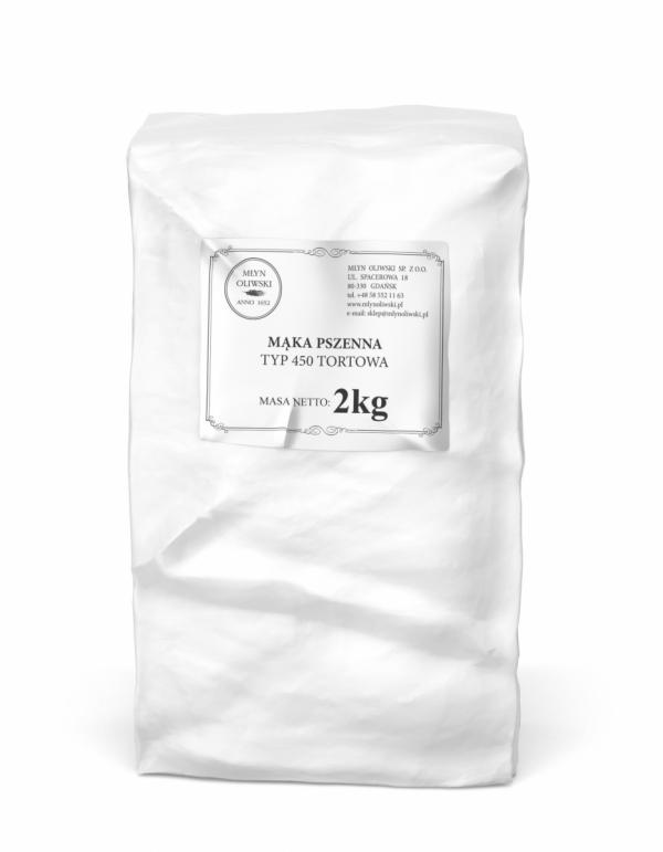 Mąka pszenna typ 450 (tortowa) - 2kg