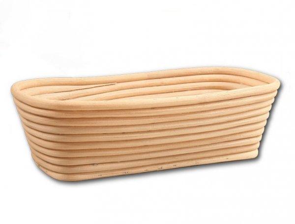 Koszyk do rozrostu (garowania) chleba - prostokąt - poj. 1kg