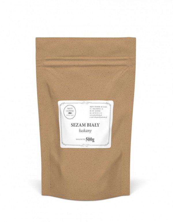 Sezam biały łuskany- 500g
