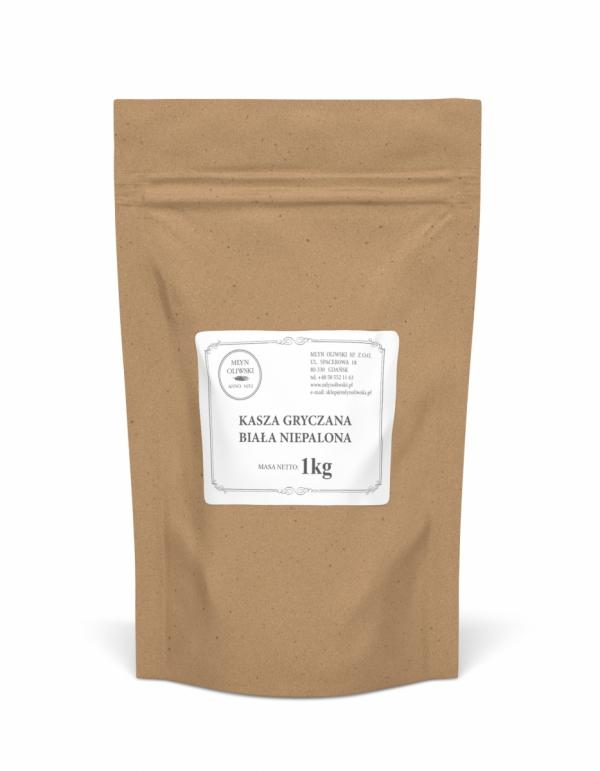 Kasza gryczana biała - niepalona - 1kg