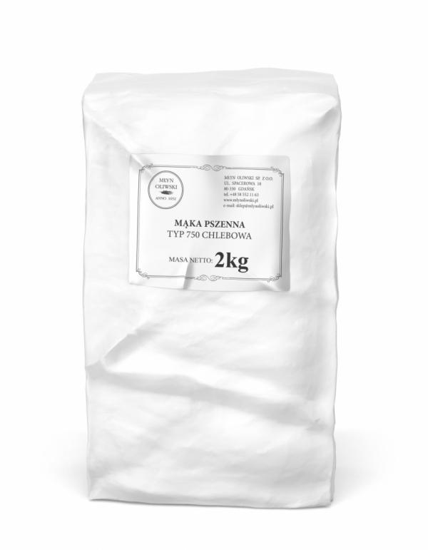 Mąka pszenna typ 750 (chlebowa) - 2kg