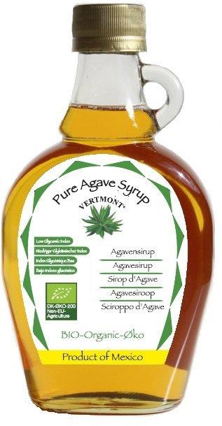 Syrop z agawy (prod. Vertmont) BIO - 235ml