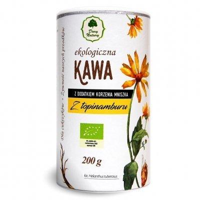 Kawa z topinamburu z dodatkiem korzenia mniszka BIO - Dary Natury - 200g