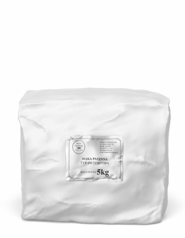 Mąka pszenna typ 450 (tortowa) - 5kg