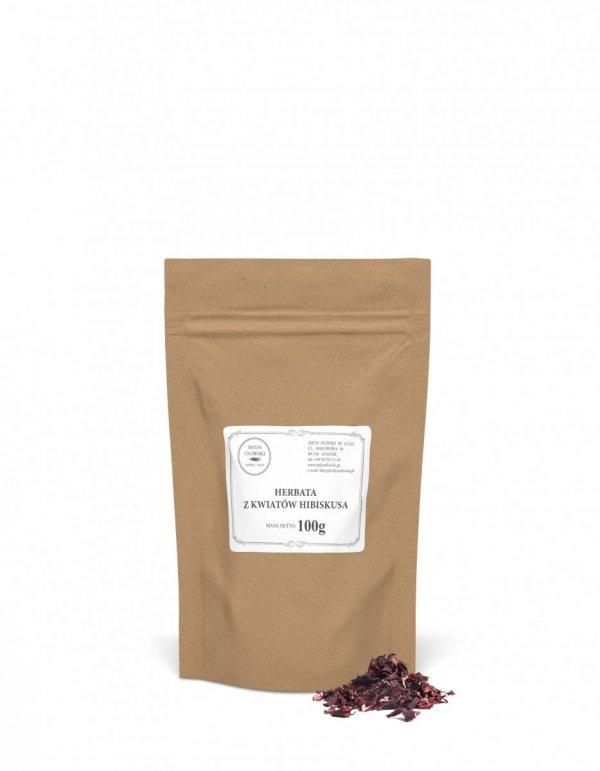 Herbata z kwiatów hibiskusa - 100g