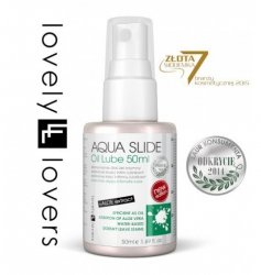 Lovely Lovers Aqua Slide Oil Lube 50 ml - lubrykant na bazie wody