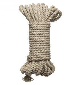 Kink Hogtied - Bind & Tie - 6mm Hemp Bondage Rope 30 Feet
