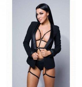 Vanessa black body harness