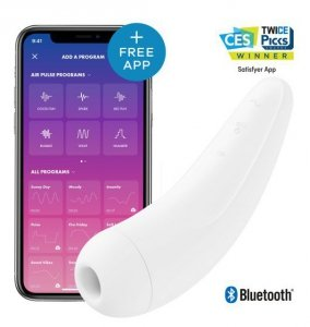 Satisfyer Curvy 2+ White with App incl. Bluetooth and App