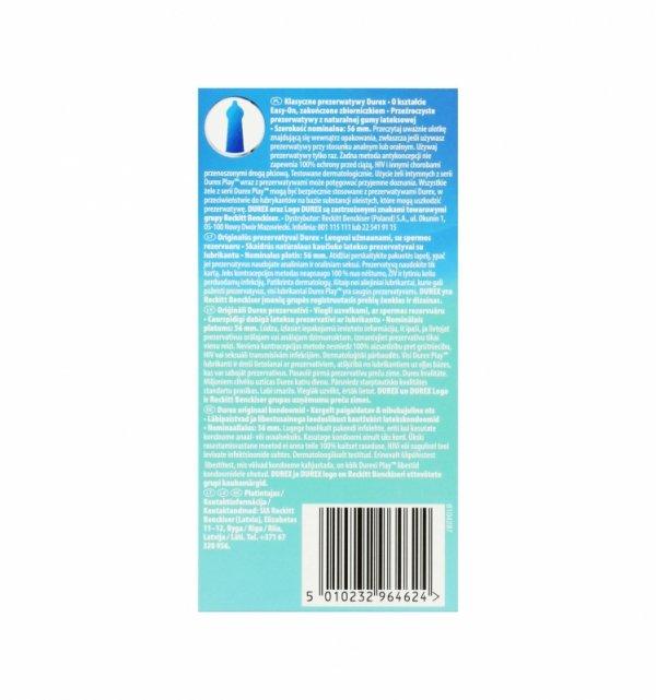 Prezerwatywy Durex Classic A12