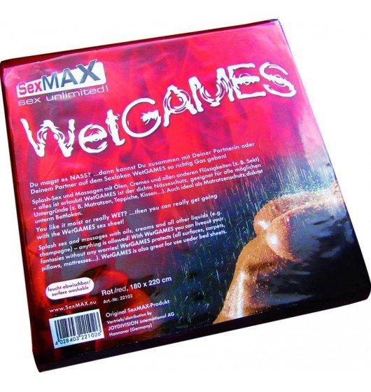 JoyDivision SexMAX WetGAMES Sex-Laken 180 x 220 (białe)