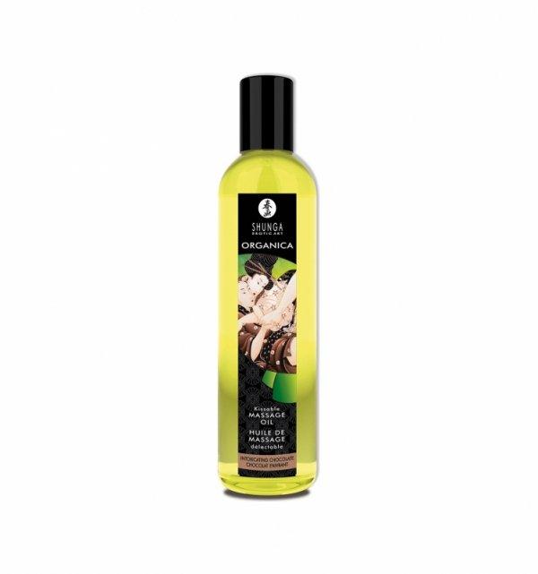 Shunga - Intoxicating Chocolate Organic Massage Oil 250 ml