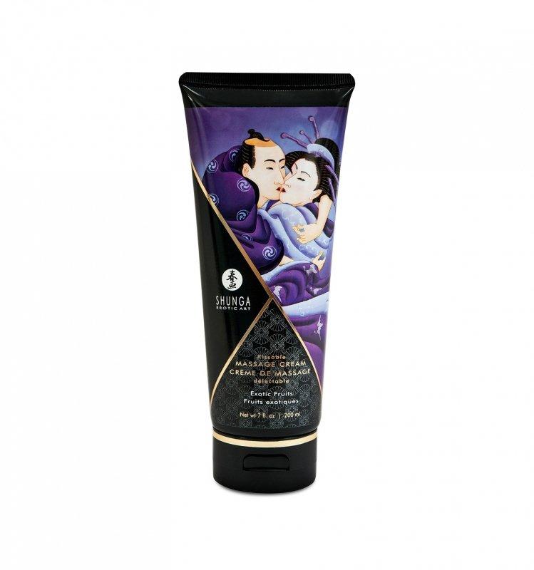 Shunga - Exotic Fruits Kissable Massage Cream 200 ml
