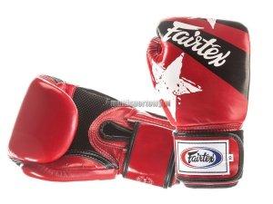 Rękaice bokserskie BGV1-N NATION PRINT Fairtex
