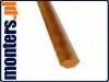 Ćwierćwałek listwa do okien 14x14mm złoty dąb 2,5m