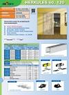 Zestaw drzwi przesuwnych HERKULES 60kg H2 okucia